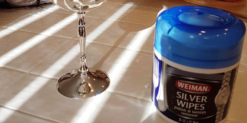 Detailed review of Weiman Silver Wipes for Cleaning and Polishing Silver Jewelry