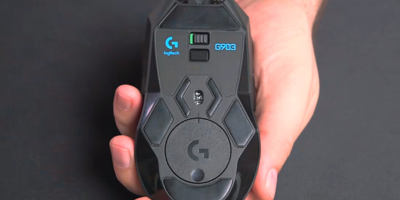 Logitech G903 LIGHTSPEED Lightspeed Gaming Mouse in the use