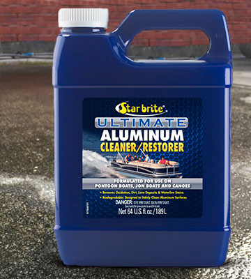 Review of Star Brite Ultimate Aluminum Cleaner & Restorer Safely Clean Pontoon Boats, Jon Boats & Canoes