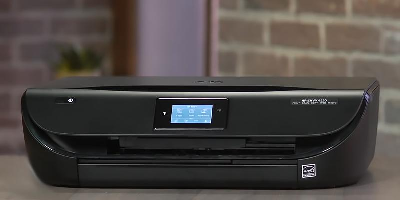 HP 4520 All-in-One Wireless Envy Color Photo Inkjet Printer in the use