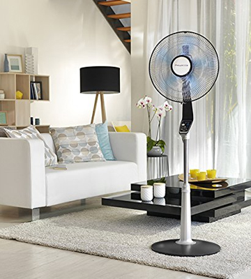 Review of Rowenta VU5670 Turbo Silence Oscillating 16-Inch Stand Fan