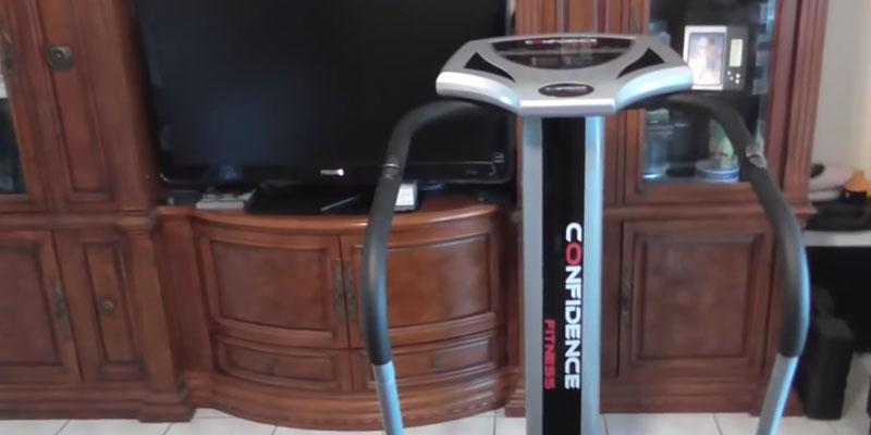 Review of Confidence Fitness Slim Full Body Vibration Platform Fitness Machine