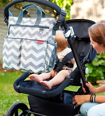 Review of Skip Hop 200306 Baby Duo Signature Diaper Bag