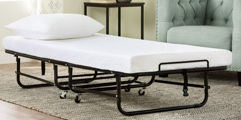 Review of LUCID Rollaway Twin Folding Guest Bed