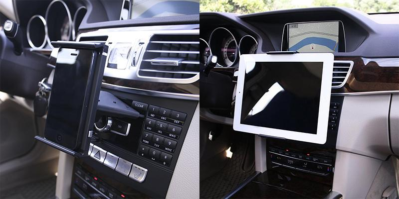 Koomus CD-Air Tab CD Slot Universal Tablet PC Car Mount Holder in the use