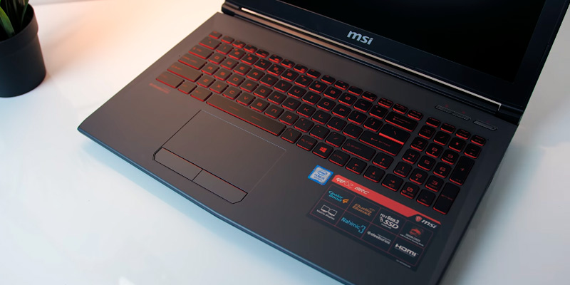 "MSI GV62 8RD-200 15.6"" Full HD Gaming Laptop (Intel i5-8300H, 8GB RAM, 16GB Intel Optane Memory + 1TB HDD, GTX 1050Ti) in the use"