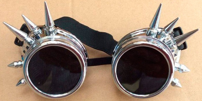 Review of Agile-shop Spiked Retro Vintage Spiked Retro Vintage Victorian Steampunk Goggles Glasses