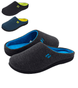 RockDove Men's Slipper Original Two-Tone Memory Foam
