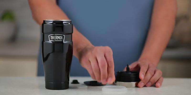 Review of Thermos Vacuum Insulated 16 oz Travel Mug with Handle