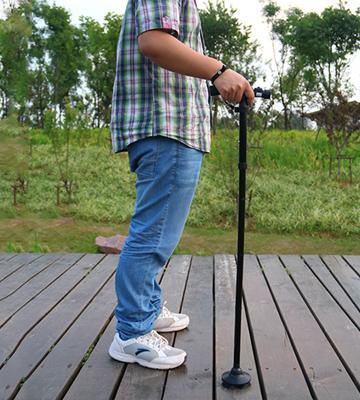 Review of My Cane Folding Walking Cane with Led Light