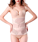 ChongErfei Postpartum Support Recovery Belly 3 in 1 Wrap Waist