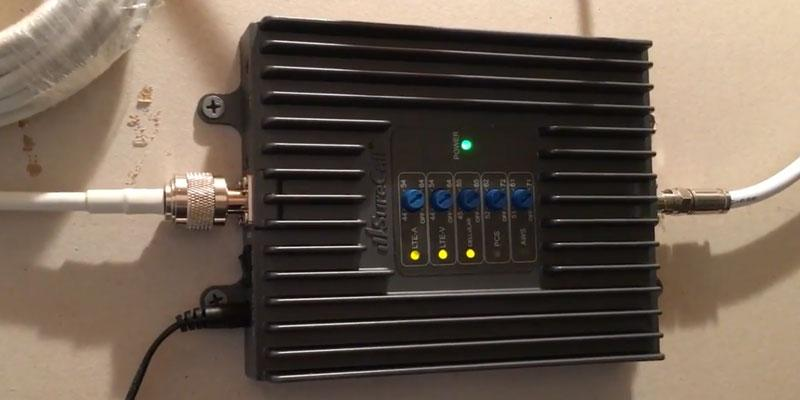 SureCall Signal Repeater in the use