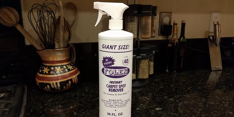 Review of Folex Instant Carpet Spot Remover