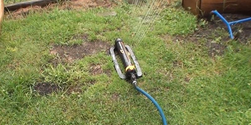 Review of Melnor XT4200M Metal Oscillating Lawn Sprinkler