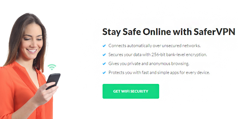 SaferVPN VPN application