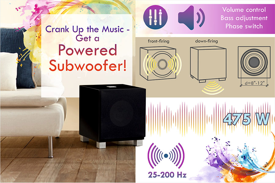 Comparison of Powered Subwoofers