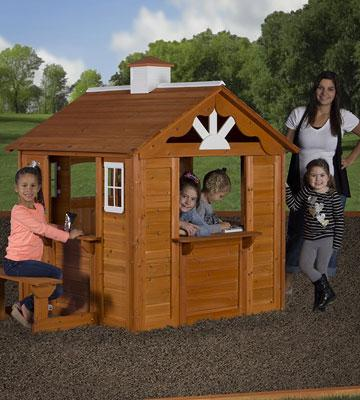 Review of Backyard Discovery Summer Cottage All Cedar Wood