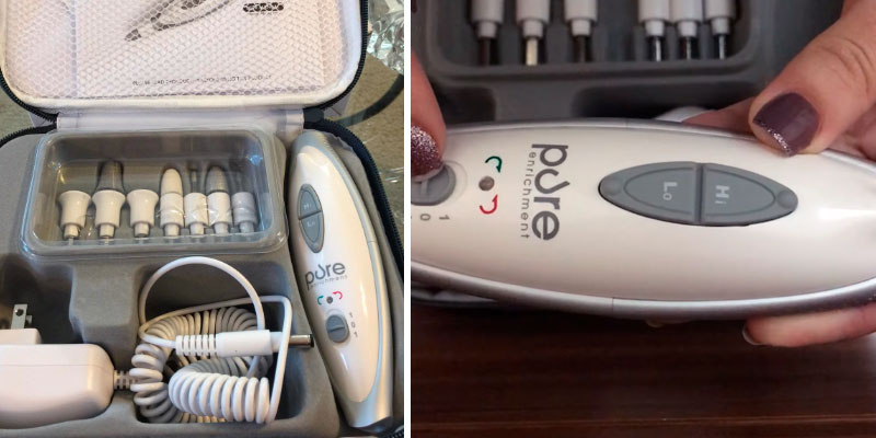 Review of Pure Enrichment PureNails 7-piece Professional Manicure & Pedicure System
