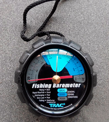 Review of TRAC-Outdoor Products T3002 Fishing Barometer