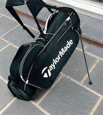 Review of TaylorMade 5.0 BlkWht Stand Golf Bag