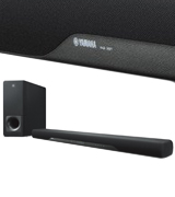 Yamaha YAS-207 Sound Bar with Wireless Subwoofer Bluetooth & DTS Virtual Black