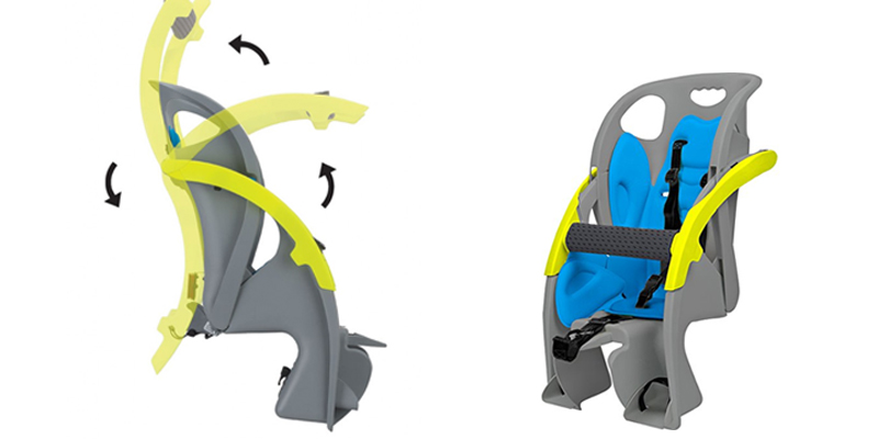 COPILOT LIMO Fully Adjustable Child Carrier application