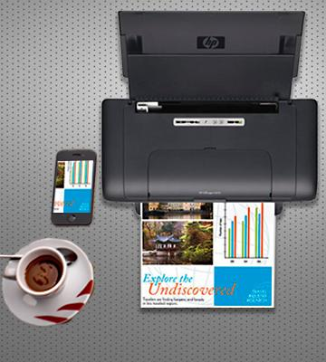 Review of HP OfficeJet H470 Mobile Printer
