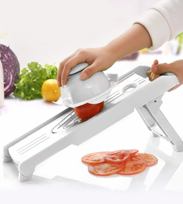 Review of LiBa LBMS080615 Mandoline Slicer with 5 Blades