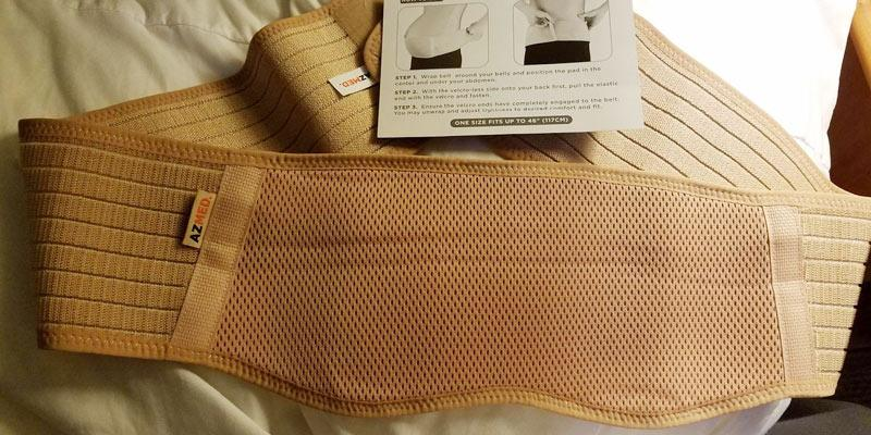 Review of AZMED Breathable Abdominal Binder One Size