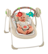 Ingenuity 60194 Cozy Kingdom Portable Swing