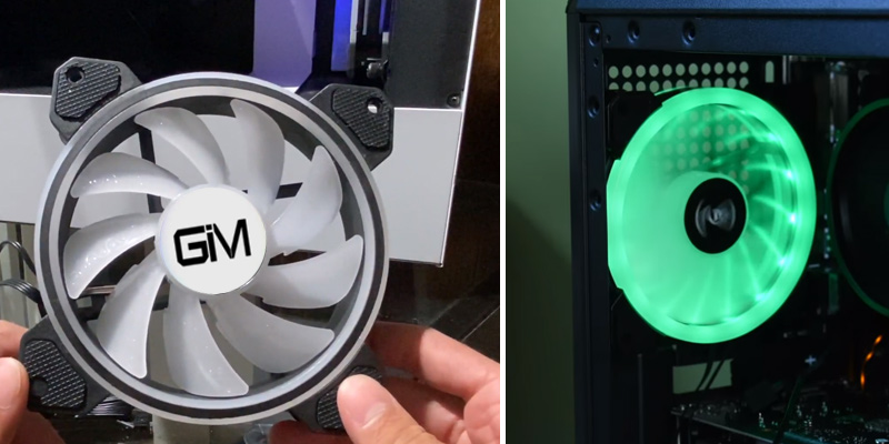 Review of GIM 120mm RGB Case Fan with Controller and Remote (3-Pack)