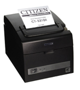 Citizen CT-S310II-U-BK Two-Color POS Thermal Printer