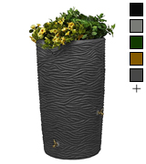 Good Ideas IMP-L65-DAR Rain Barrel and Planter Top
