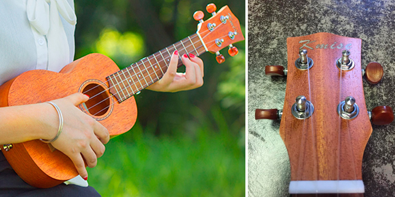 Detailed review of Kmise Soprano Vintage Hawaiian Ukulele