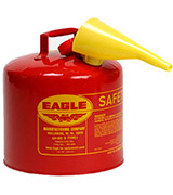 Eagle UI-50-FS Red Safety Can
