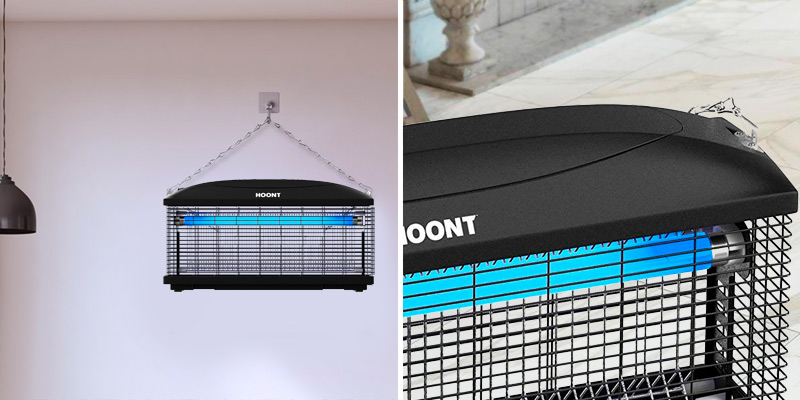 Review of Hoont lectric Indoor Fly Zapper and Bug Zapper Trap Catcher