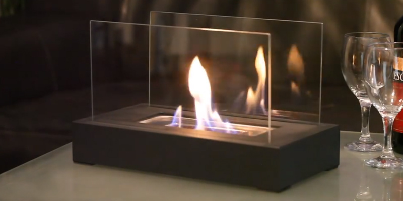 Review of Moda Flame GF301801 Vigo Table Top Ethanol Fireplace