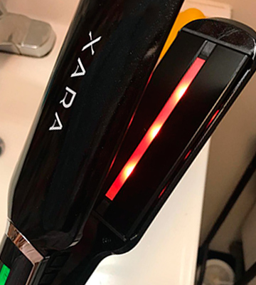 "Review of Xara Professional 2"" Dual Voltage Flat Iron"