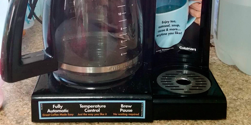 Cuisinart CHW-12 Programmable Coffeemaker in the use