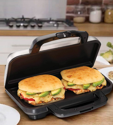 Review of Proctor Silex 25415 Deluxe Hot Sandwich Maker