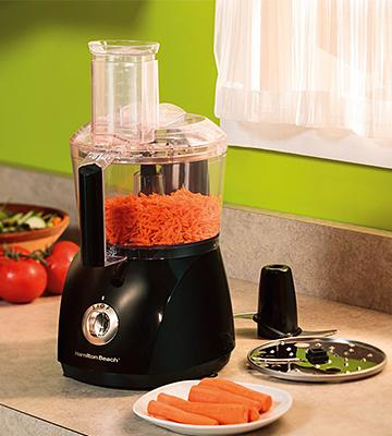 Review of Hamilton Beach 70740 8-Cup Food Processor, Black