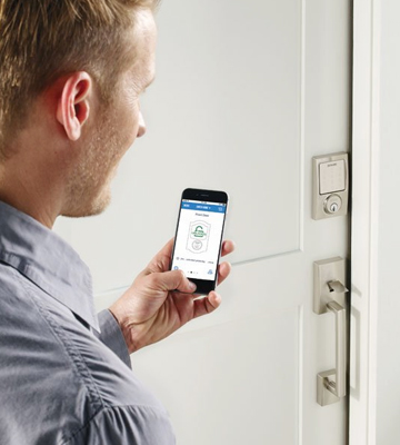Review of Schlage BE479 V CEN 619 Sense Smart Deadbolt