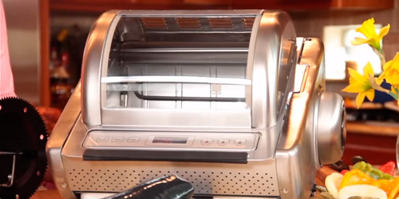 Detailed review of Ronco ST5250SSGEN Store Stainless Steel Rotisserie Oven