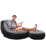 Intex 68564EP Ultra Inflatable Lounge with Ottoman