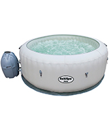 Bestway 54149E SaluSpa Paris AirJet Inflatable Hot Tub w/ LED Light Show