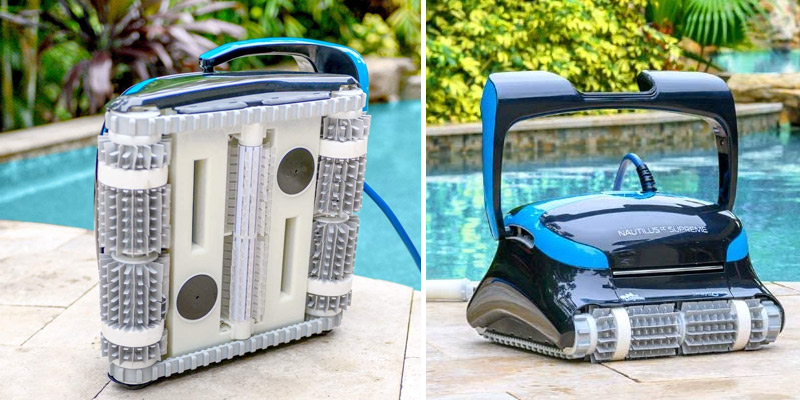 Dolphin Nautilus CC Supreme Automatic Robotic Pool Cleaner in the use