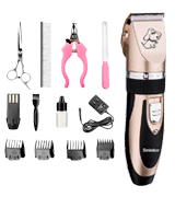 Sminiker Professional Rechargeable Pet Grooming Kit