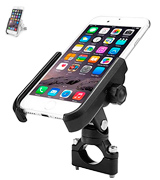 ILM 4333305286 Bike Motorcycle Phone Mount Aluminum Bicycle Cell Phone Holder Accessories