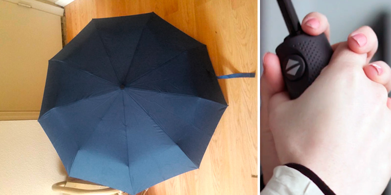 Review of Repel 05 Windproof Travel Umbrella with Teflon Coating