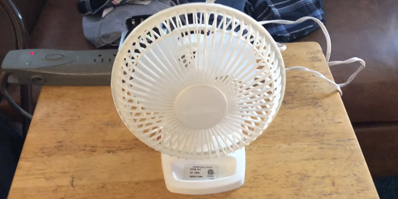 Review of Lasko 2002W 6-Inch Personal Table Fan